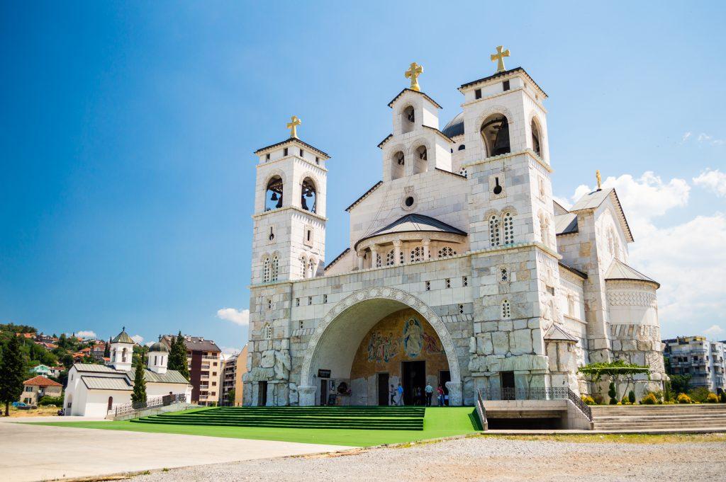 İsa'nın Diriliş Katedrali, Podgorica, Karadağ