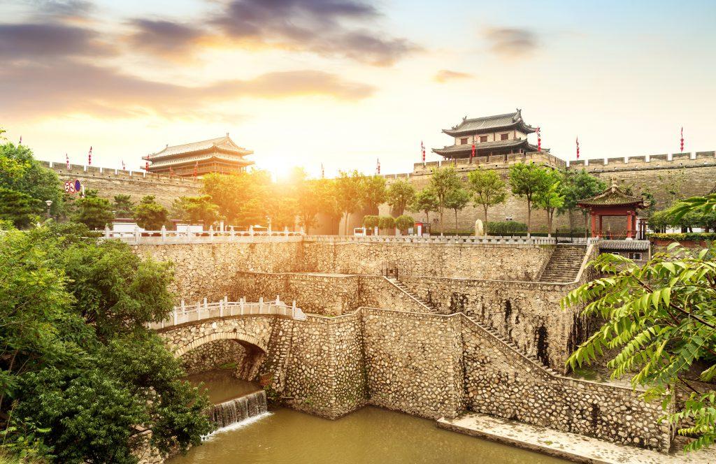 Şehir Surları, Xian, Çin