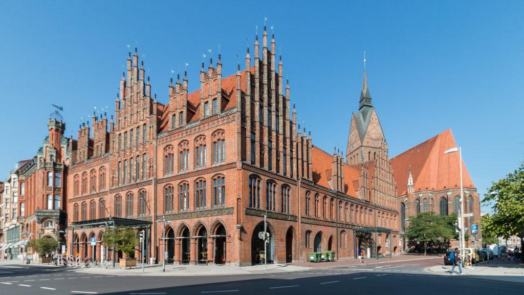 Eski Belediye Binası – Altes Rathaus, Hannover, Almanya