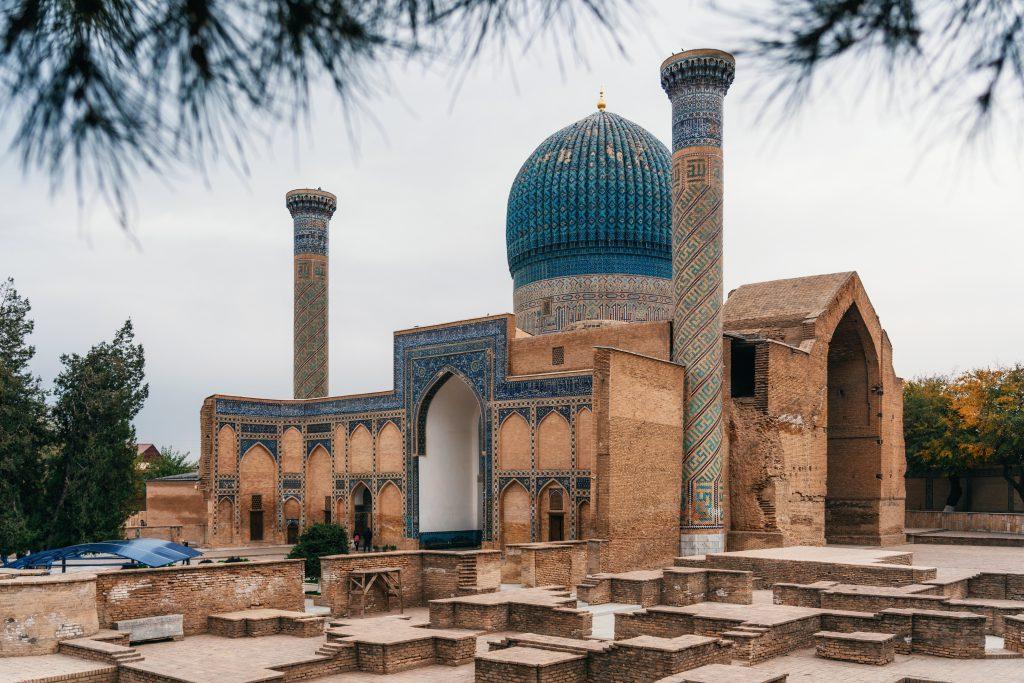 Gür-i Emir Türbesi, Semerkant, Özbekistan