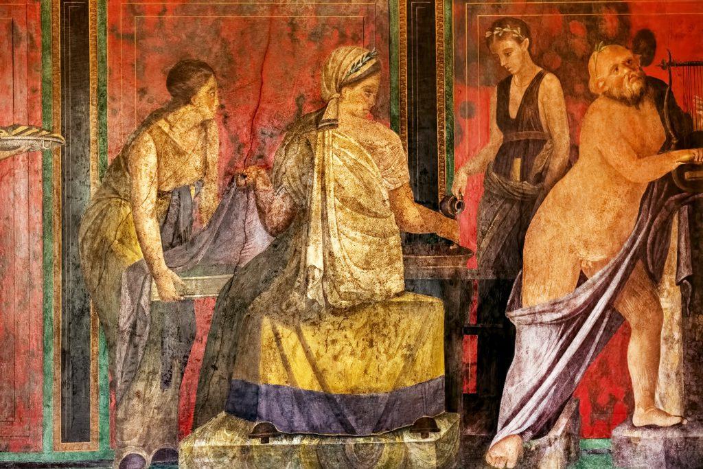Gizemler Villası, Pompeii