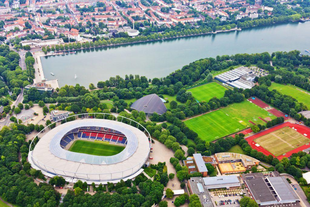 Hannover Stadyumu, Hannover, Almanya