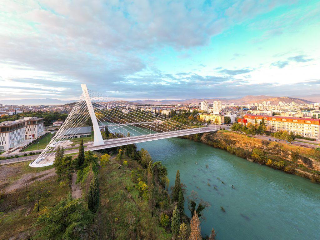 Milenyum Köprüsü, Podgorica, Karadağ