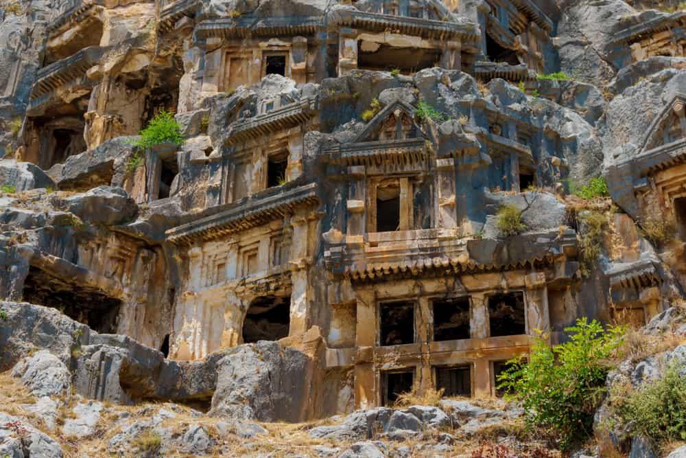 Mira Kral Mezarları Demre Antalya