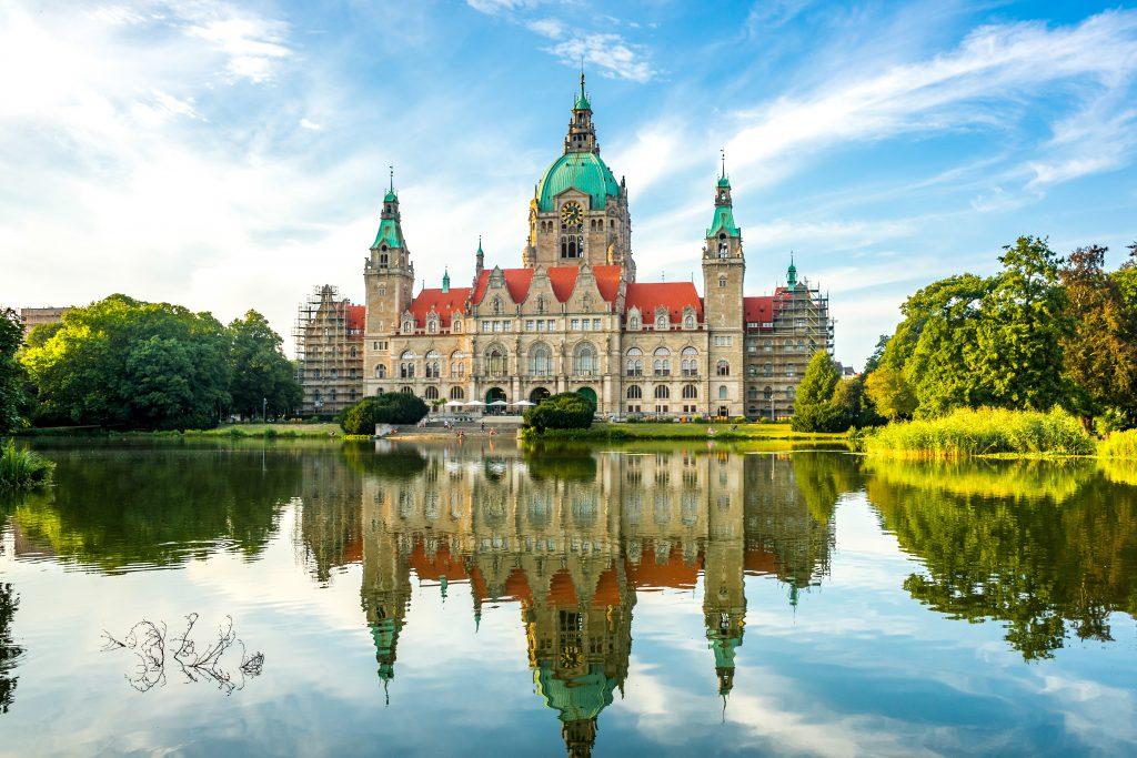 Yeni Belediye Binası, Hannover, Almanya