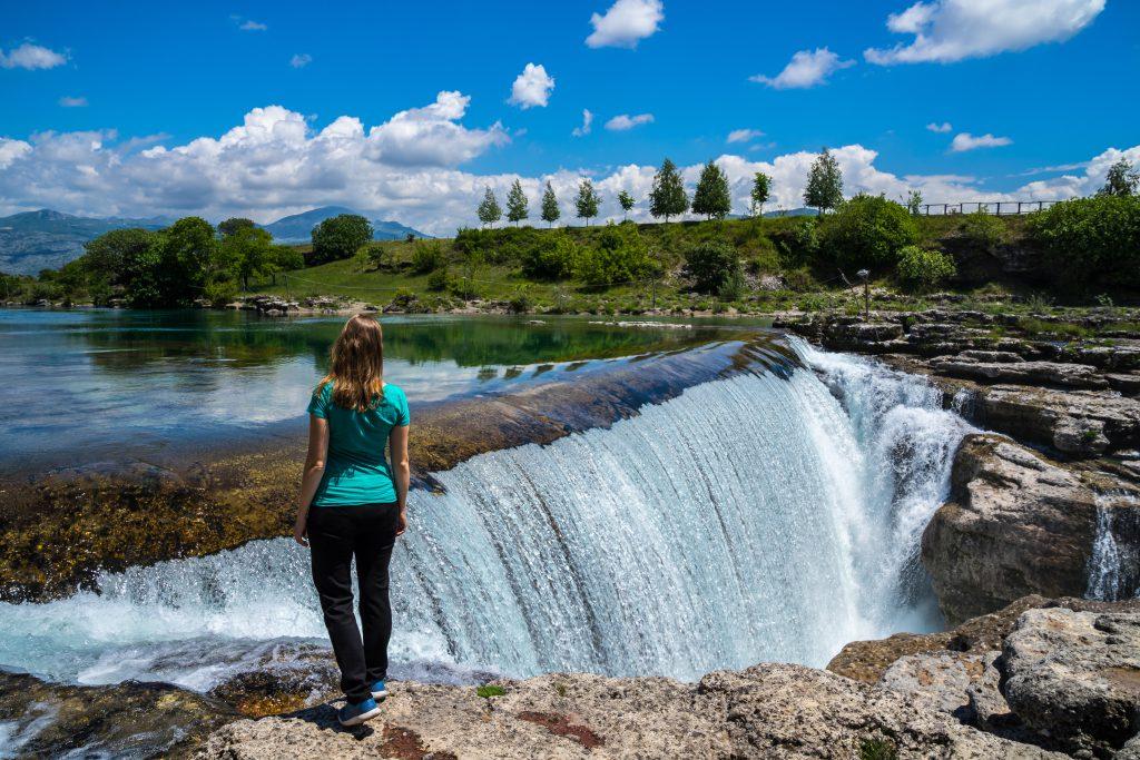Niagara Şelalesi, Podgorica, Karadağ