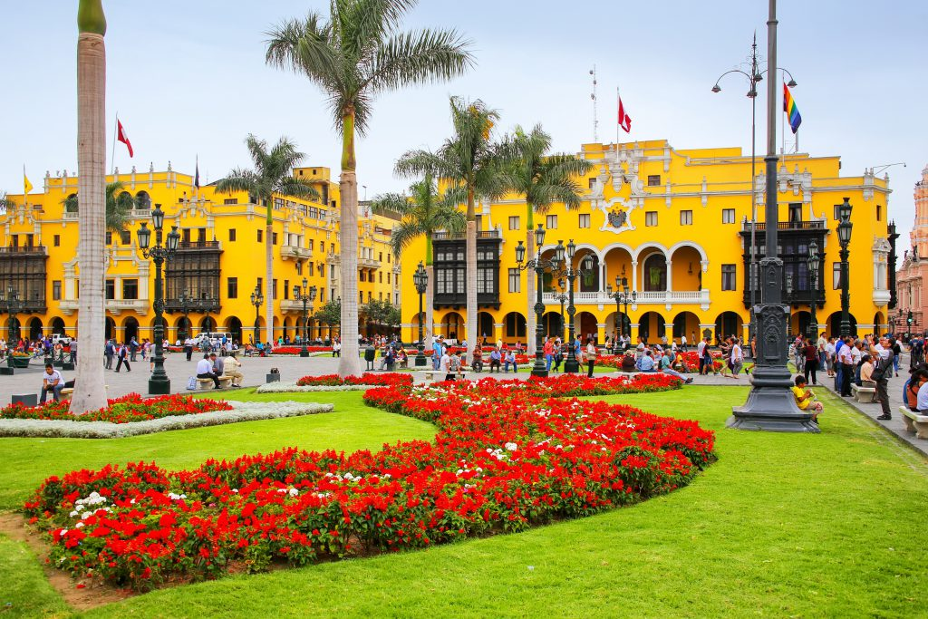 Plaza de Armas (Plaza Mayor), Lima, Peru