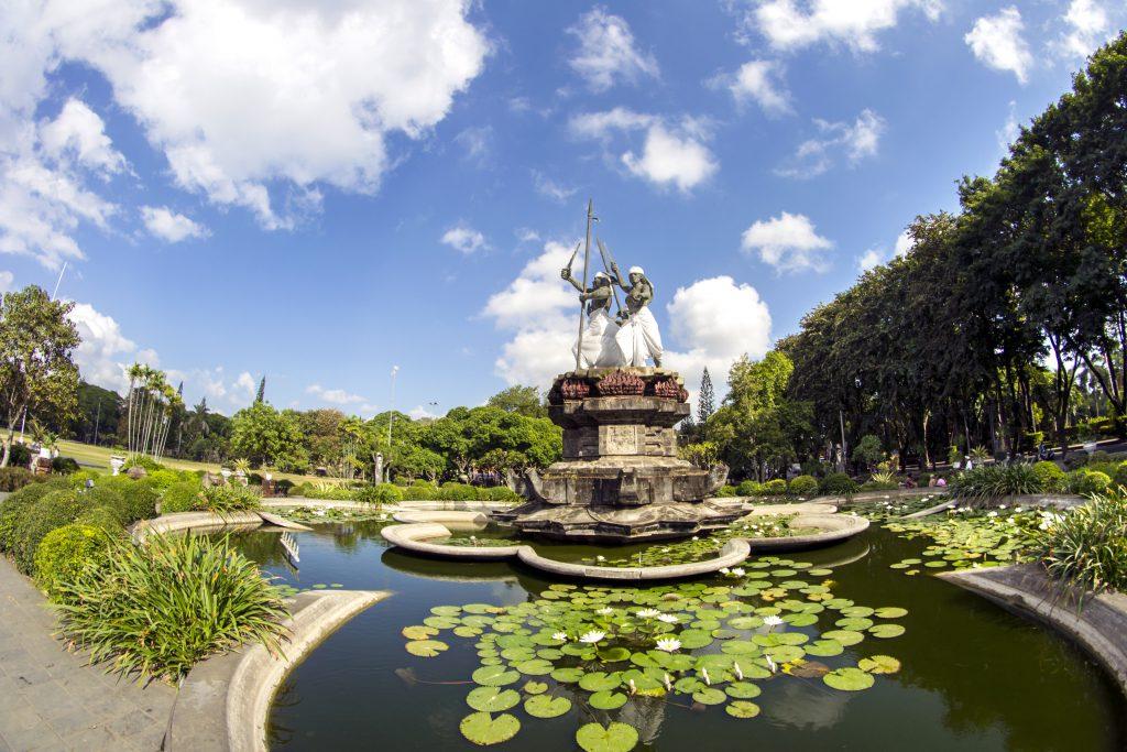 Puputan Meydanı (Lapangan Puputan Badung), Denpasar, Endonezya