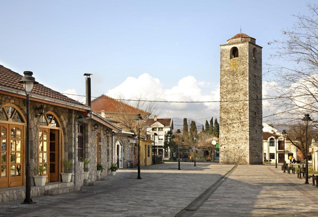Saat Kulesi, Podgorica, Karadağ