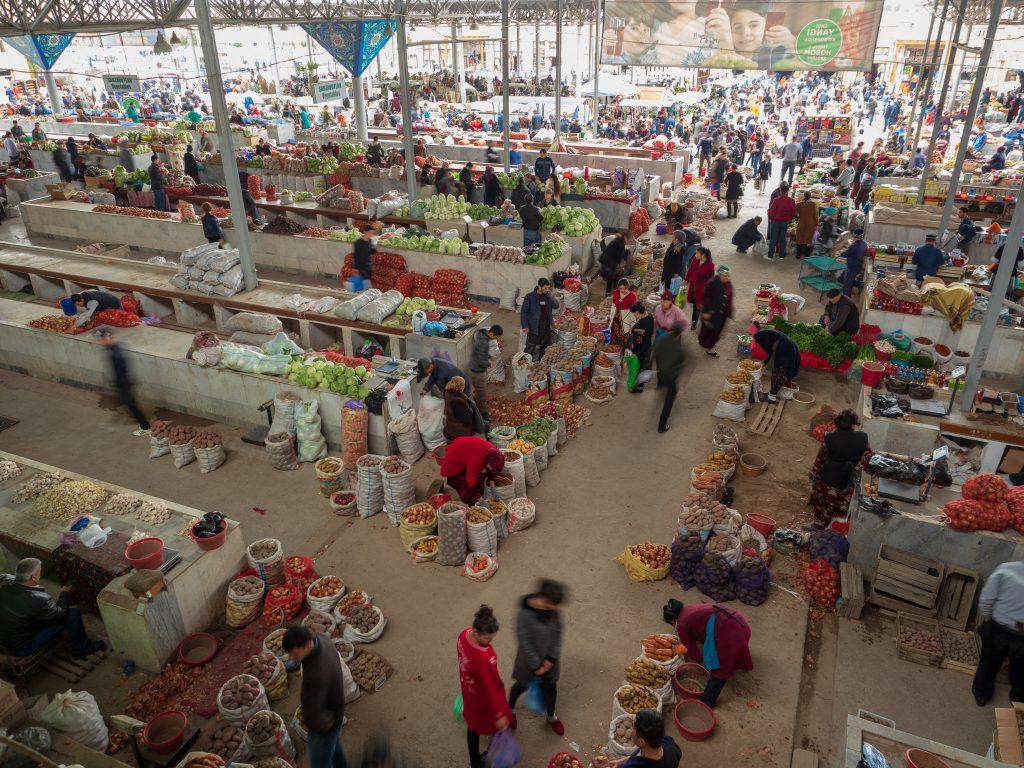 Siyab Bazaar, Semerkant, Özbekistan