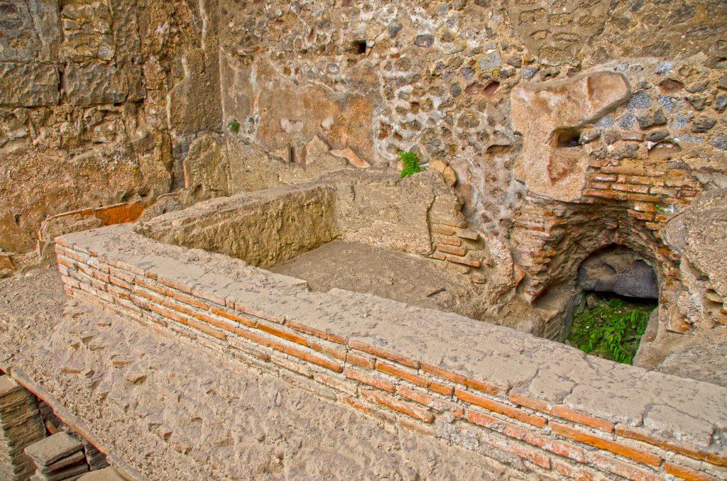 Stabian Hamamı Pompeii