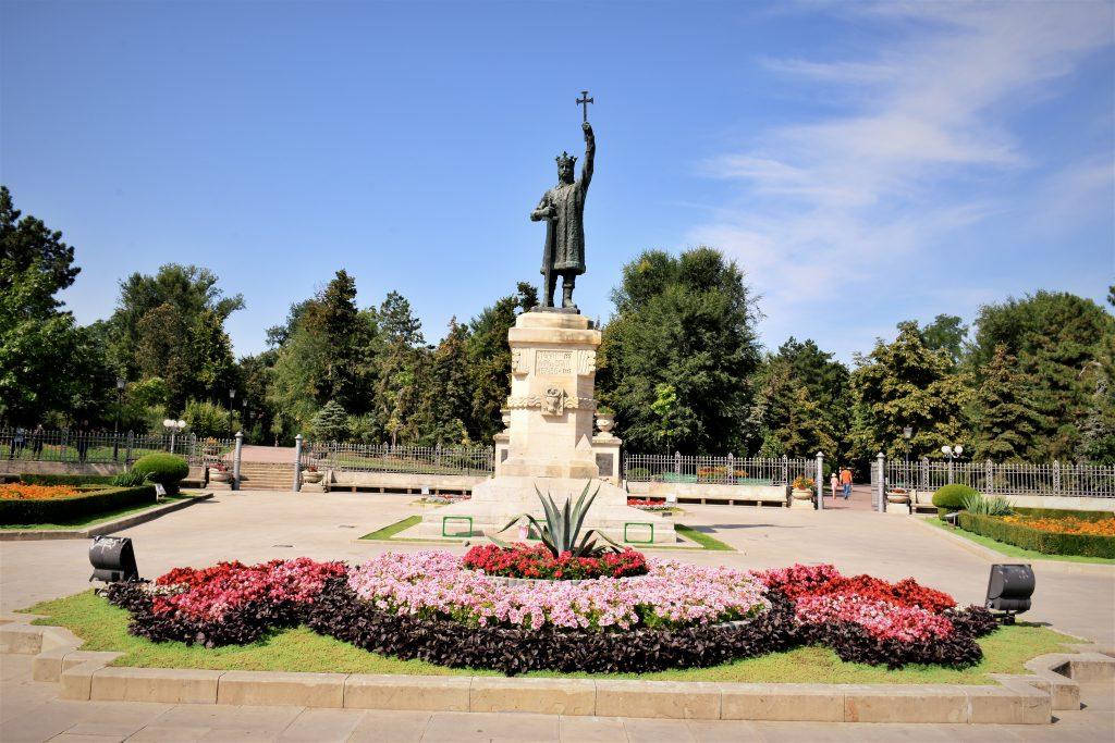 Stefan Cel Mare Parkı ve Anıtı, Kişinev, Moldova