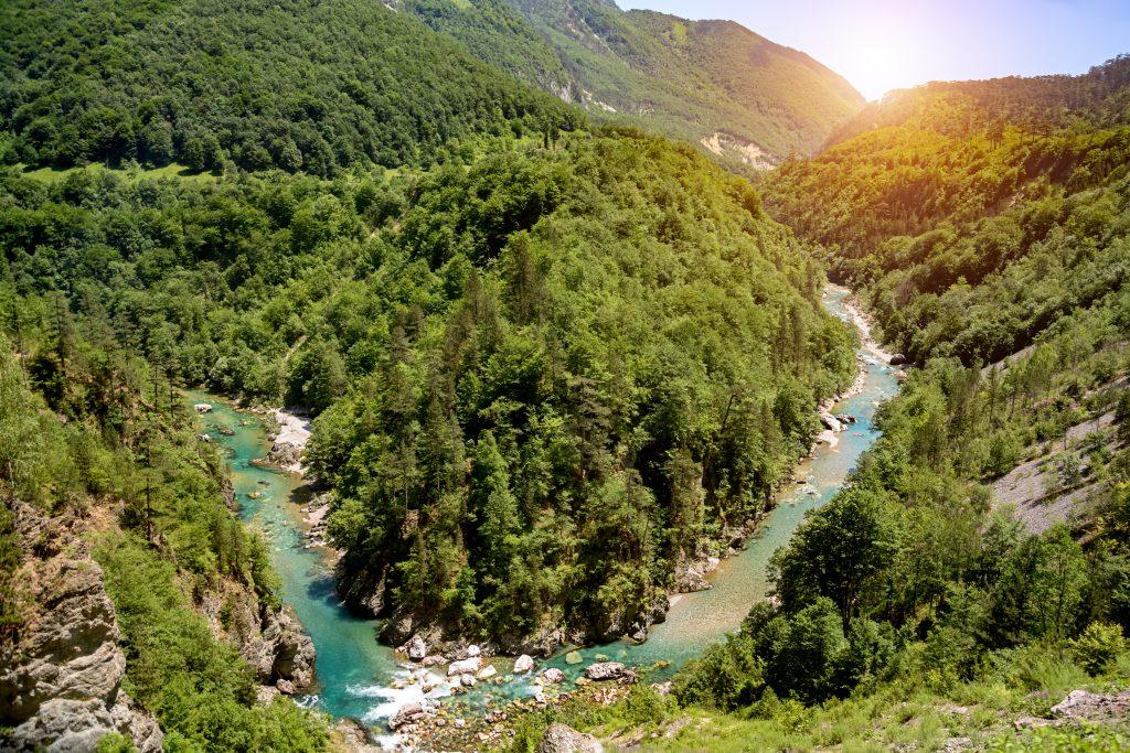 Tara Nehir Kanyonu, Podgorica, Karadağ