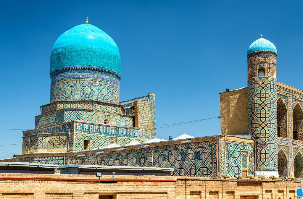 Tilla-Kari Medresesi, Semerkant, Özbekistan