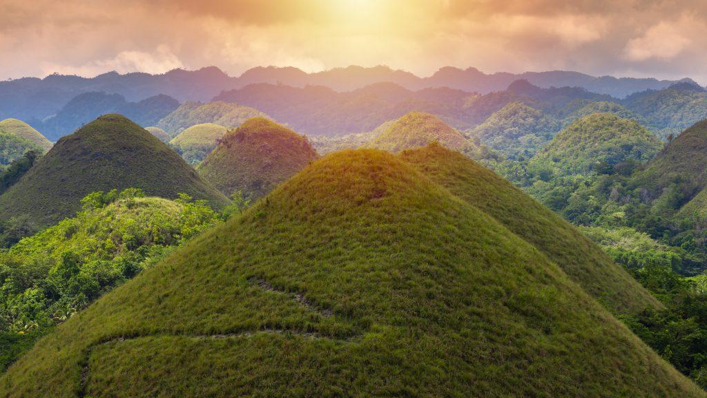 Çikolata Tepeleri, Bohol, Filipinler