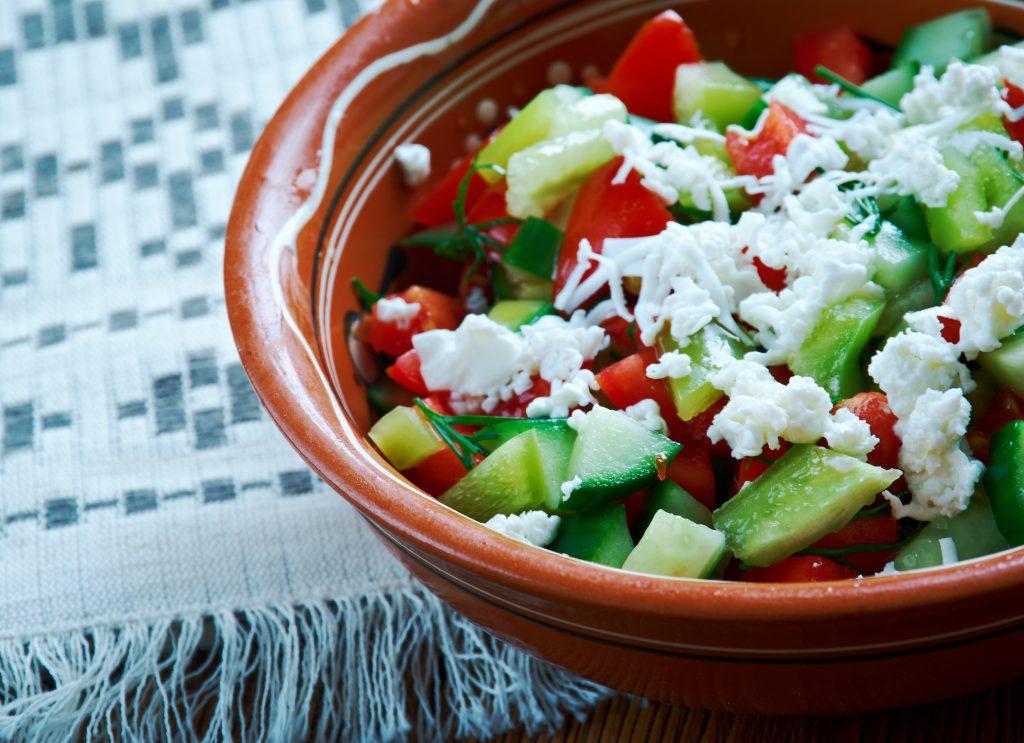 Şopska Salatası