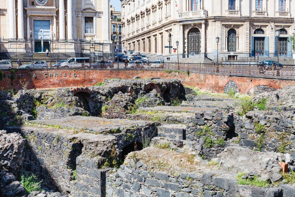 Anefiteatro Romano di Catania, Sicilya