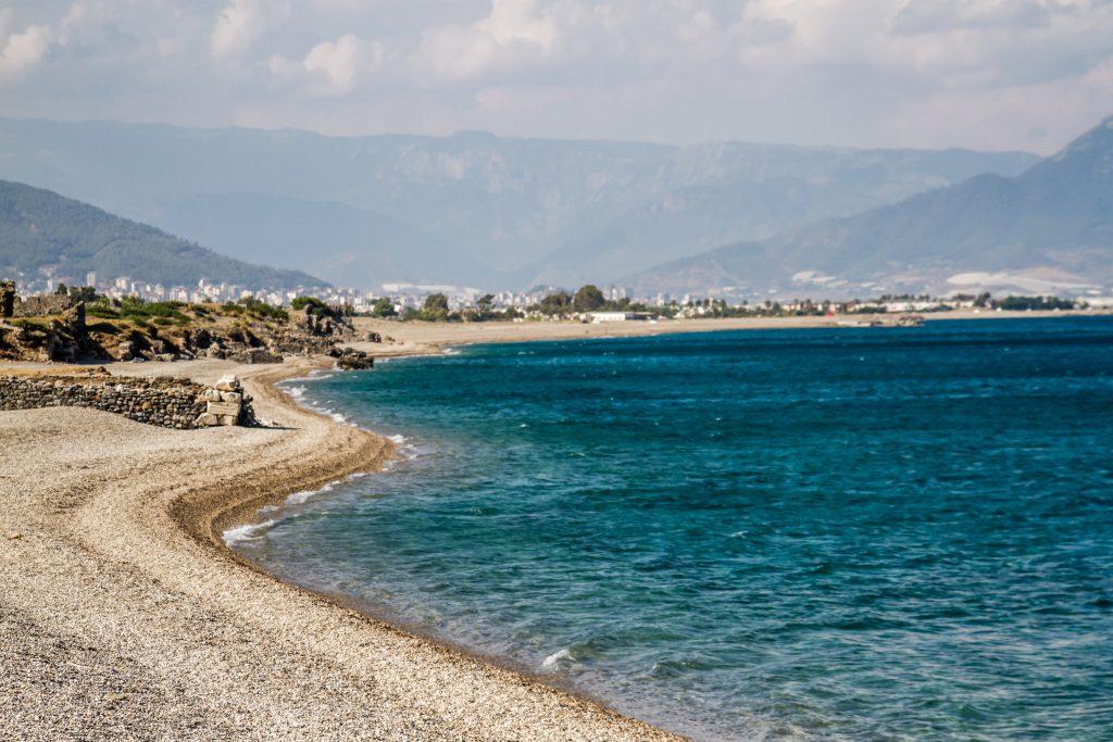 Anemurium Antik Kenti Plajı, Mersin