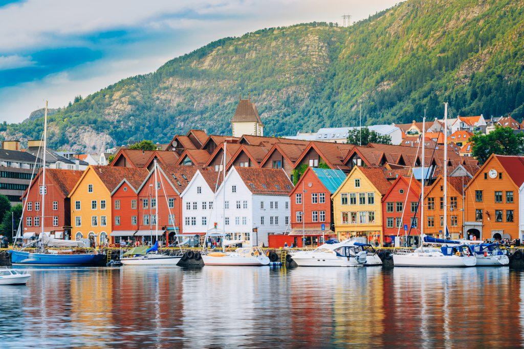 Bergen, İskandinavya