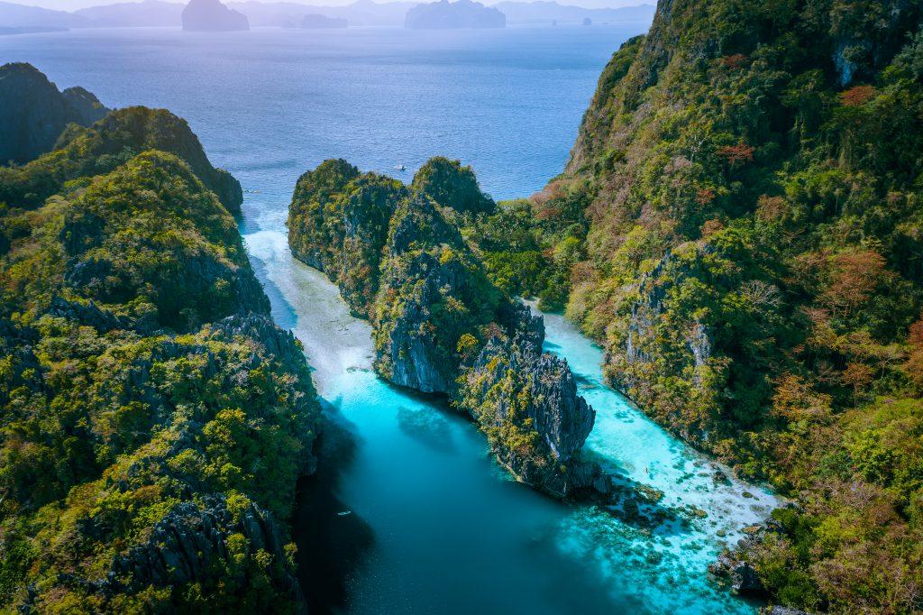 Big Lagoon, Filipinler