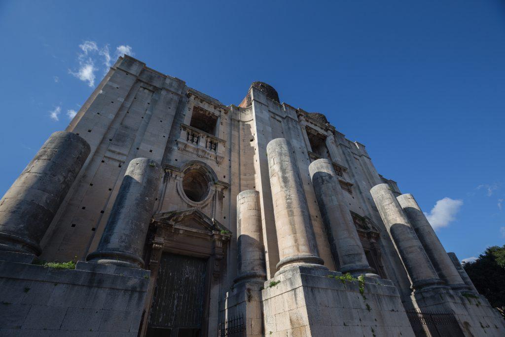 Chiesa di San Nicoló l'Arena, Catania, Sicilya