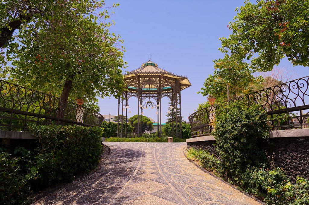 Giardini Bellini, Catania, Sicilya
