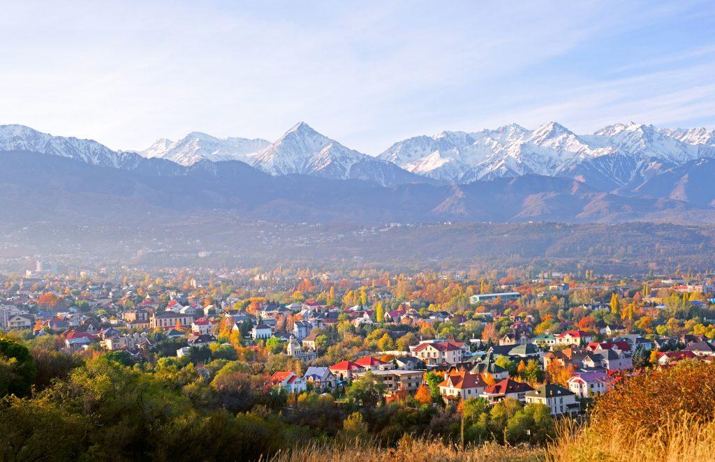 Kok Tobe, Almatı, Kazakistan