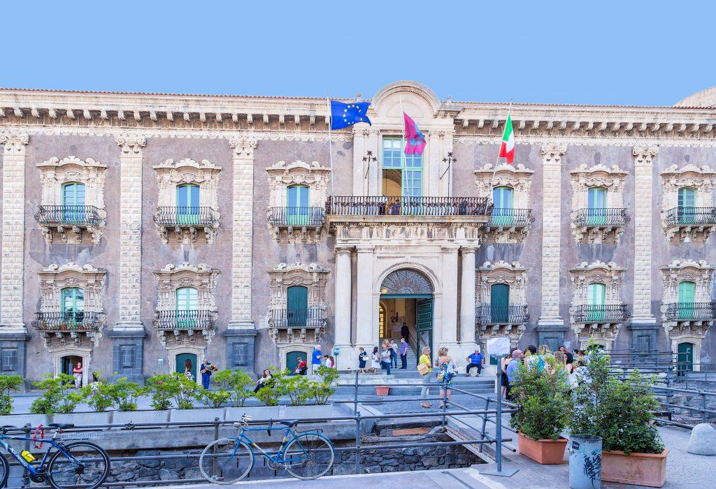 Monastero dei Benedettini di San Nicolò l'Arena, Catania, Sicilya