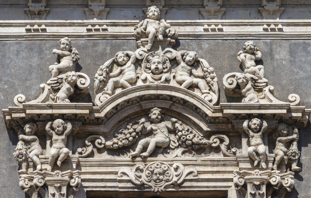 Palazzo Biscari, Catania, Sicilya