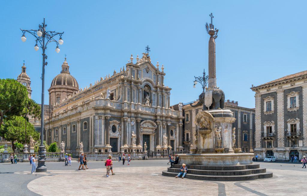 Piazza del Duomo Catania Sicilya