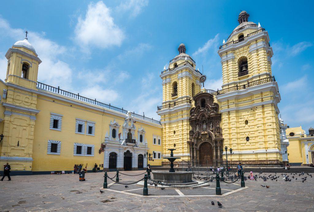 San Francisco Kilisesi, Lima, Peru