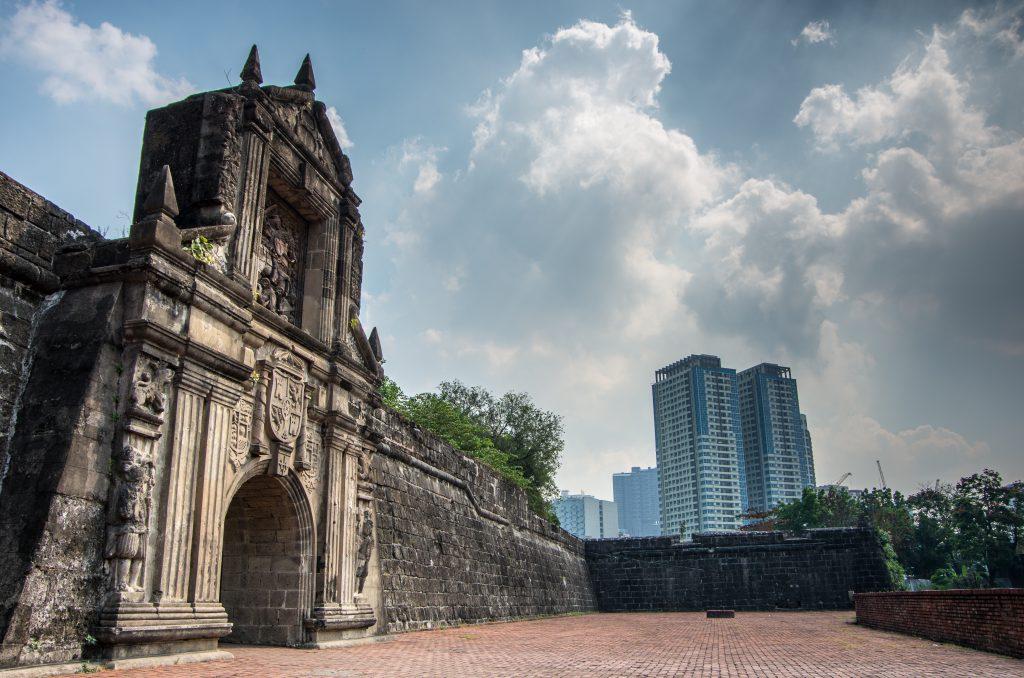 Santiago Kalesi, Manila, Filipinler