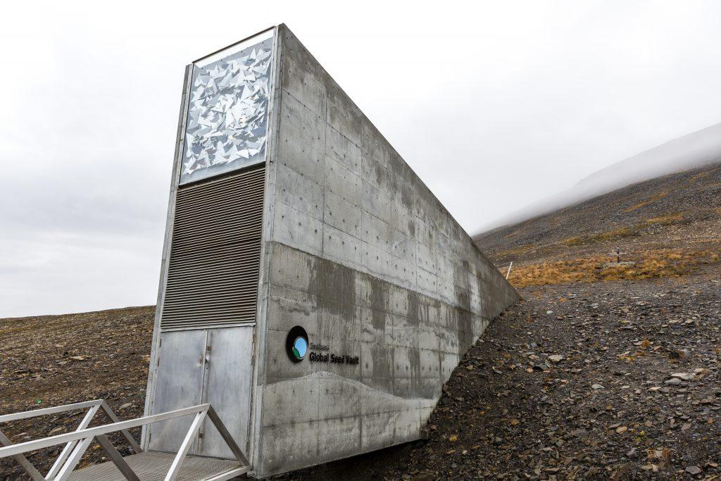 Svalbard Küresel Tohum Deposu (Kıyamet Ambarı) - Spitsbergen Adası, Norveç