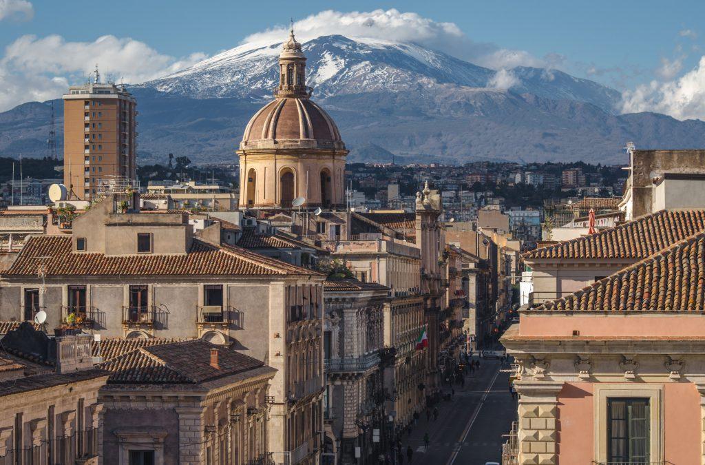 Via Etnea, Catania, Sicilya