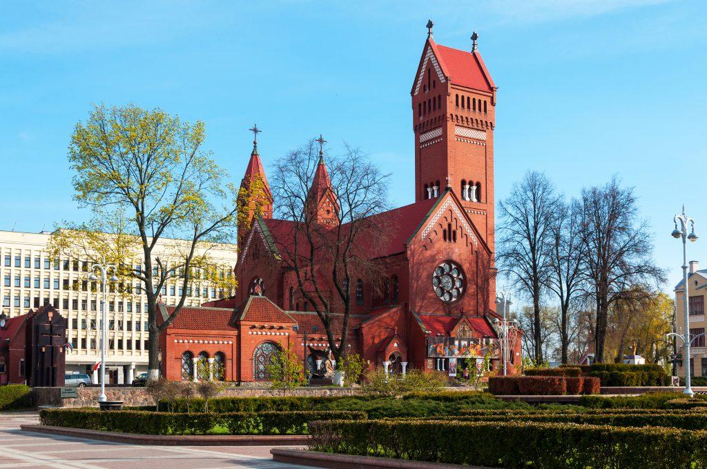 Aziz Simon ve Helena Kilisesi / Kırmızı Kilise, Minsk