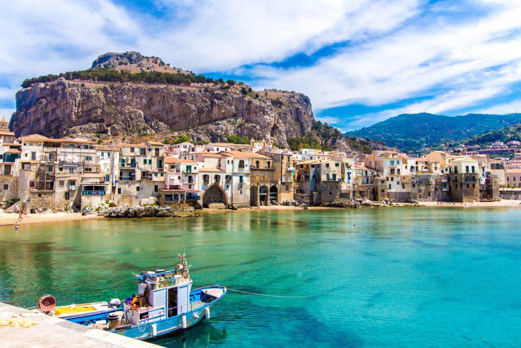 Cefalu, Sicilya