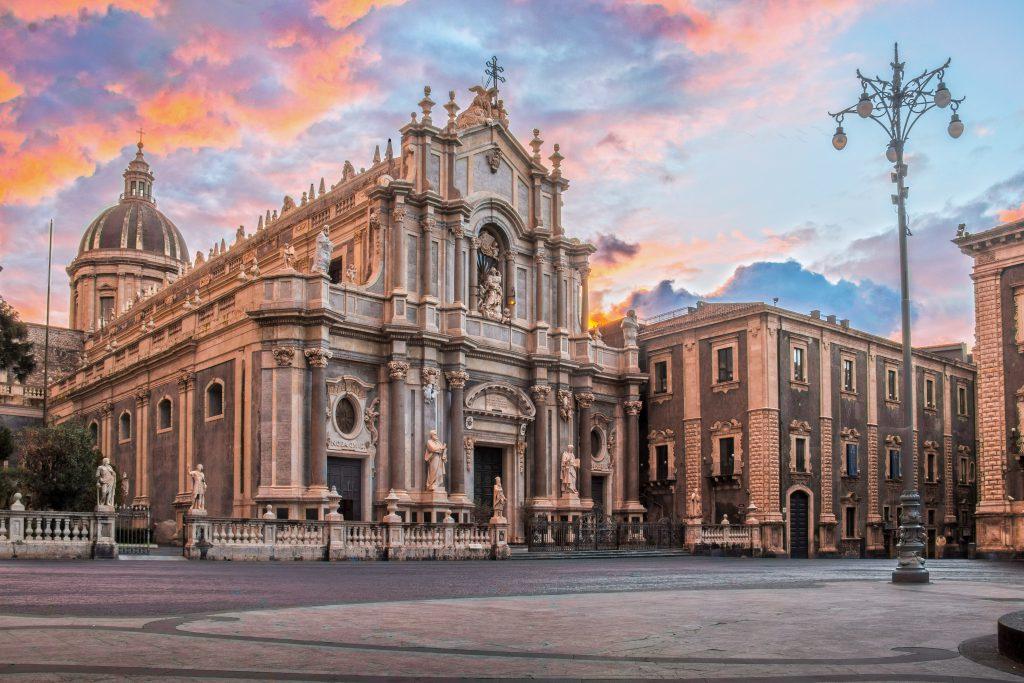 Duomo Meydanı, Katanya, Sicilya