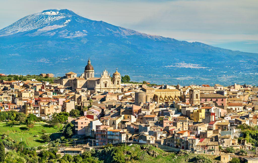 Etna Yanardağı, Katanya, Sicilya
