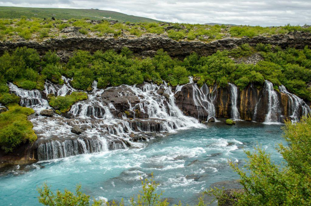 Hraunfossar (İzlanda)
