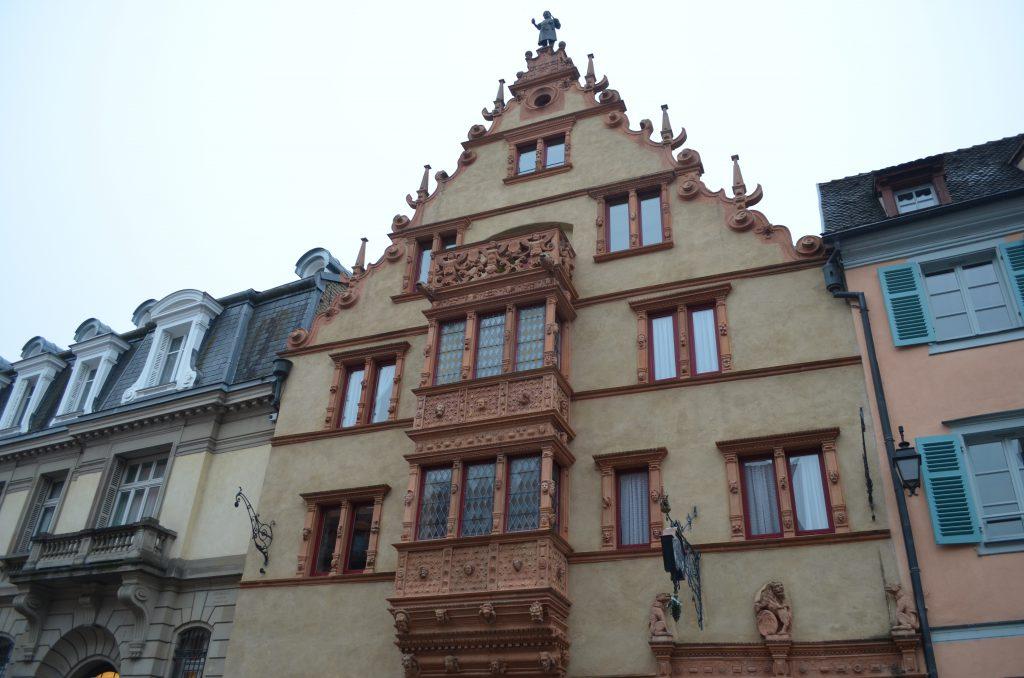 Maison des Tetes (Başkanlar Evi/Kafalar Evi), Colmar