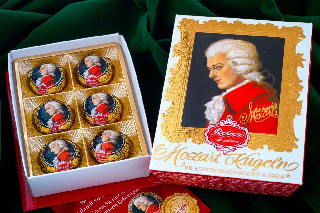 Mozart Çikolatası, Avusturya