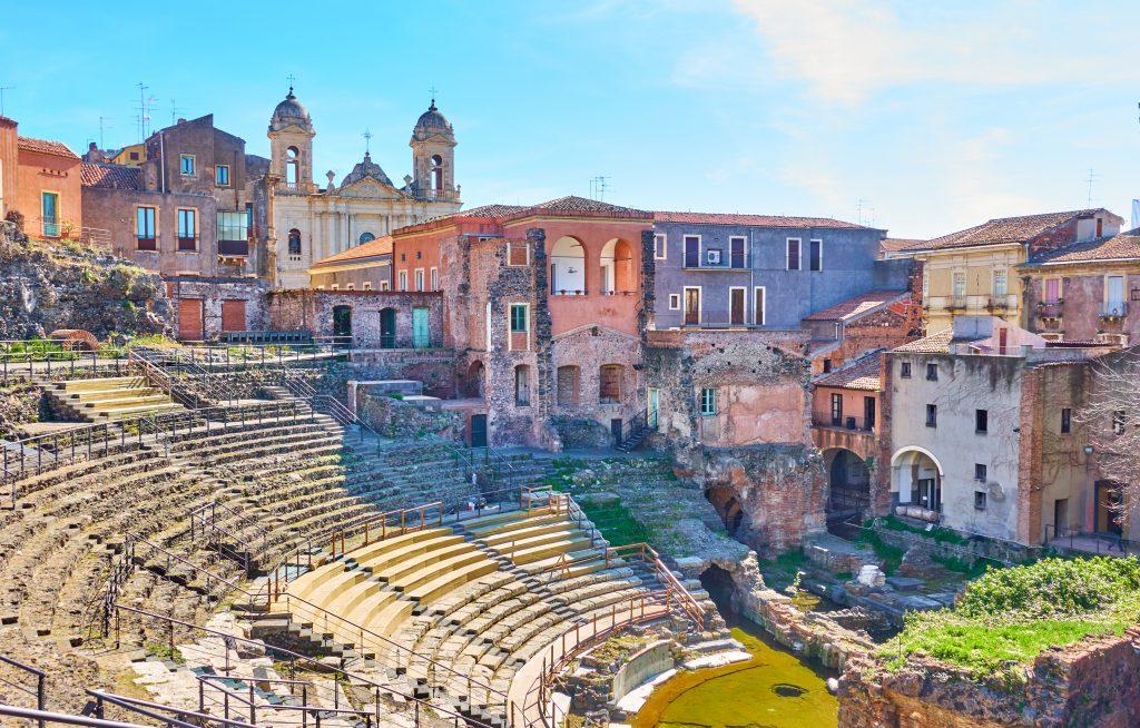 Roma Tiyatrosu, Katanya, Sicilya