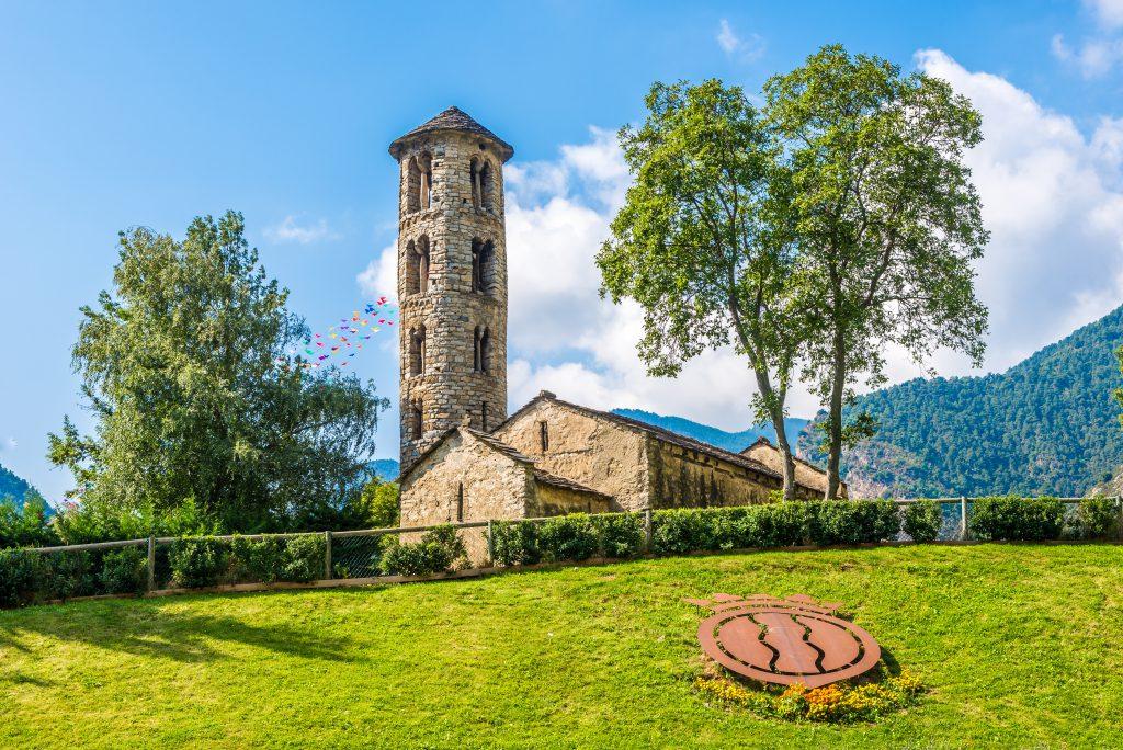 Santa Coloma Kilisesi, Andorra