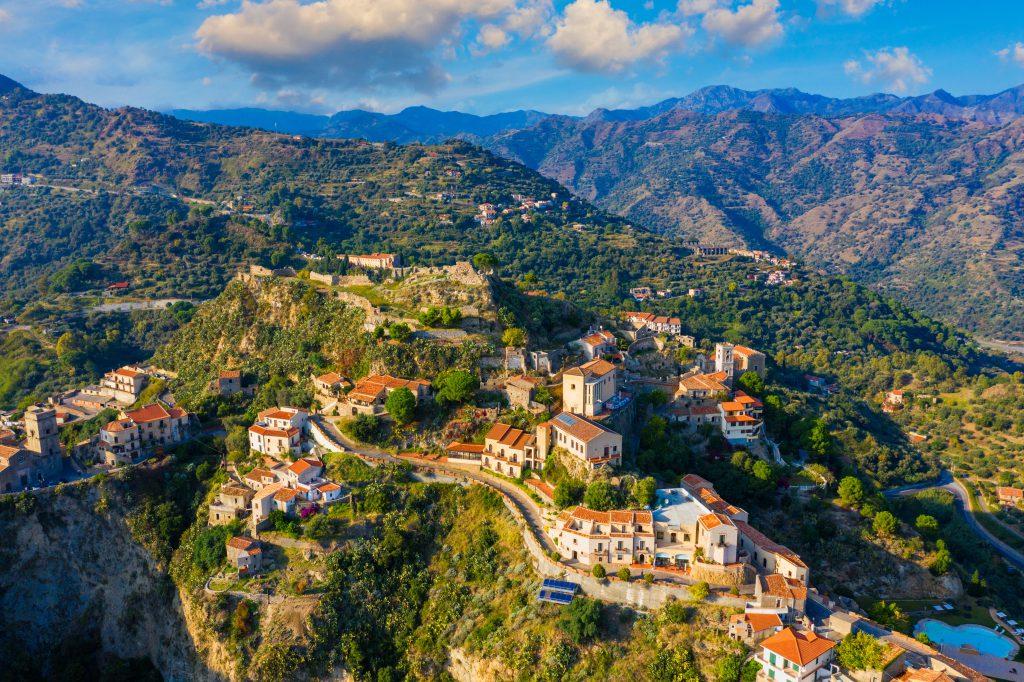 Savoca Köyü, Sicilya