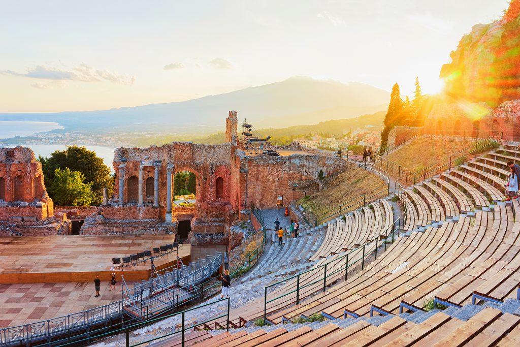 Taormina Antik Tiyatrosu, Sicilya