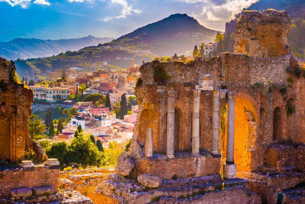 Taormina, Sicilya