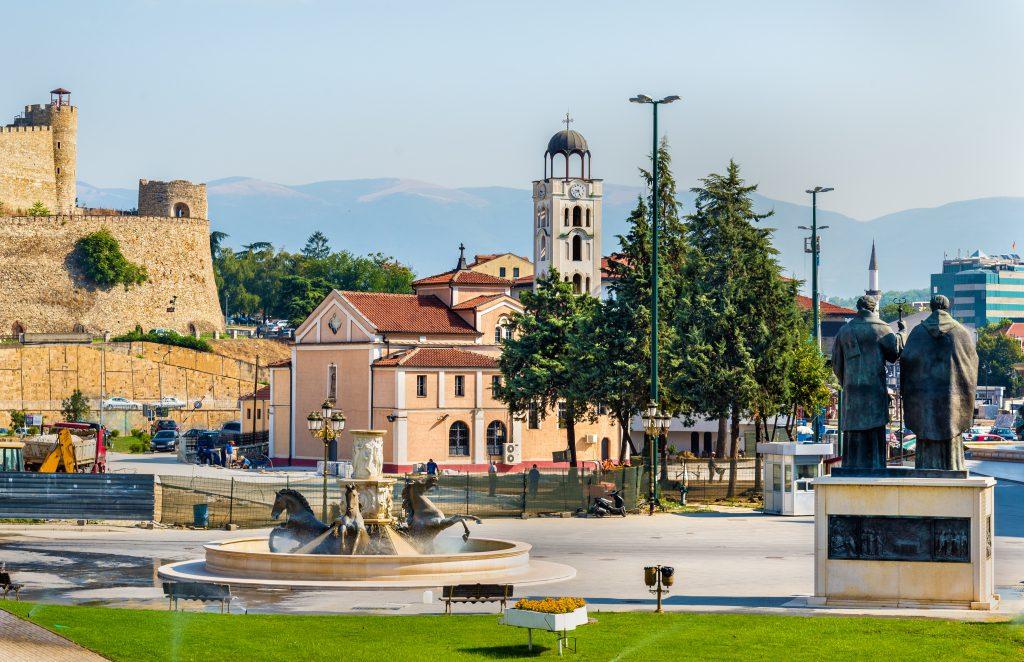 Üsküp Saat Kulesi, Makedonya