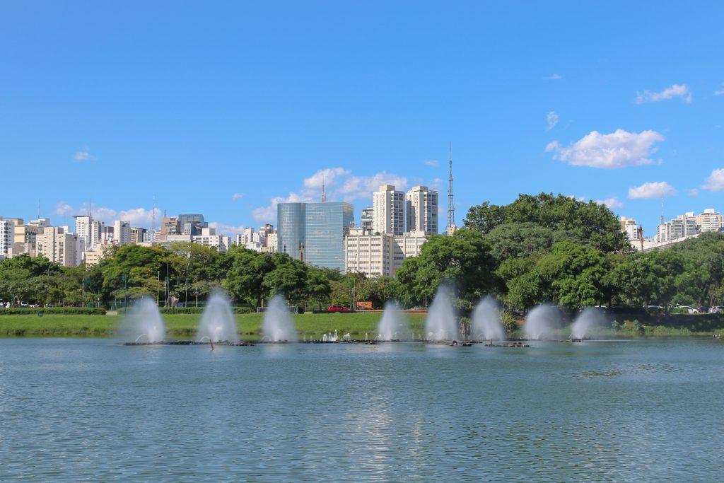 İbirapuera Parkı (Parque do Ibirapuera), Sao Paulo, Brezilya