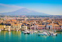 Catania, Sicilya, İtalya