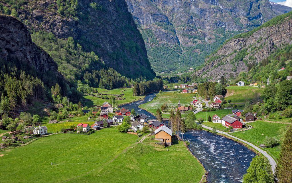 Flam Köyü, Norveç